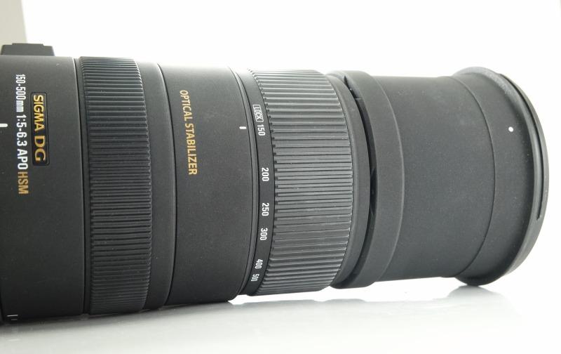 SIGMA 150-500 mm f/5-6,3 APO DG OS HSM pro Canon