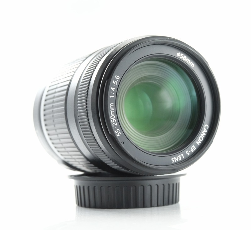 CANON EF-S 55-250 mm f/4-5,6 IS TOP
