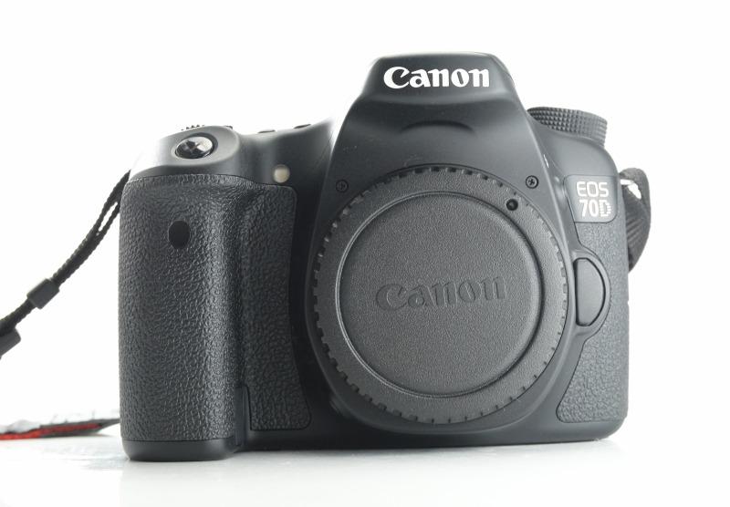Canon EOS 70D  TOP