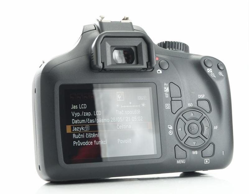 Canon EOS 4000D + 18-55mm  III  TOP STAV