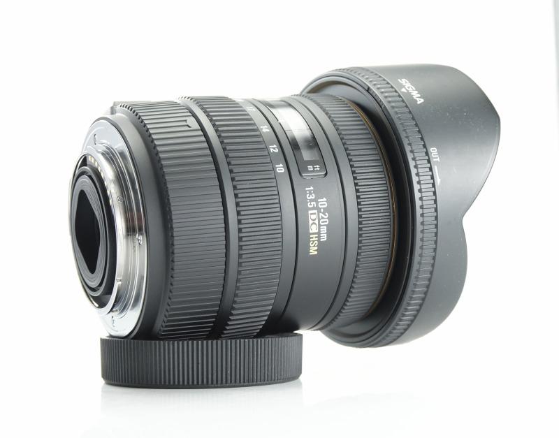 SIGMA 10-20 mm f/3,5 EX DC HSM pro Sony A