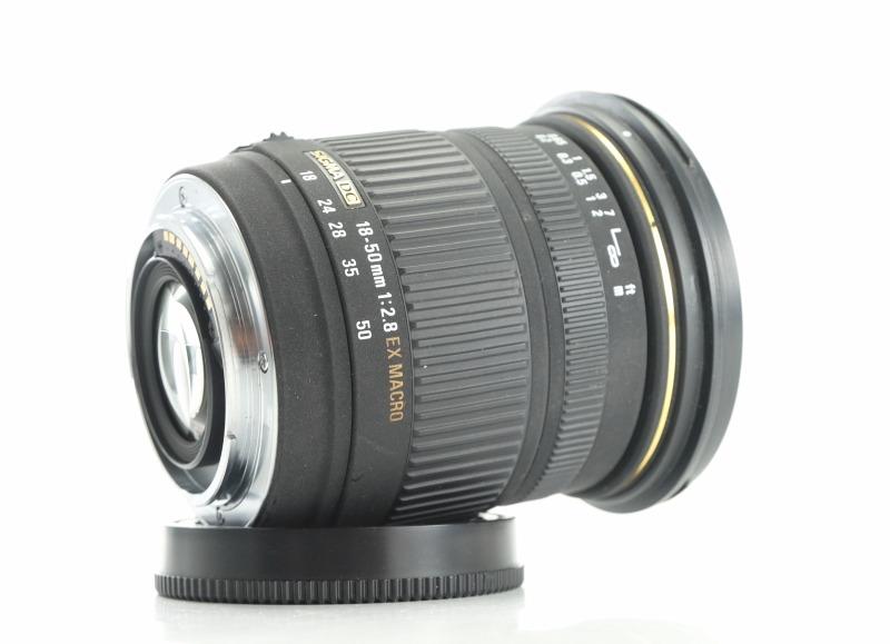 Sigma 18-50 mm F2,8 EX DC Macro pro  Sony A