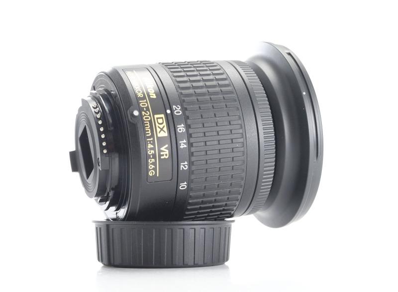 NIKON 10-20 mm f/4,5-5,6G VR AF-P DX TOP