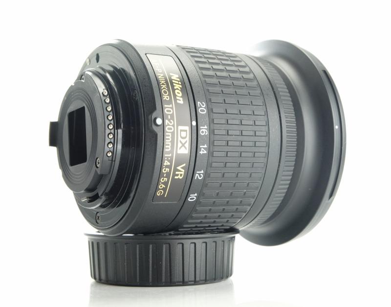 NIKON 10-20 mm f/4,5-5,6G VR AF-P DX TOP záruka do 9/2021