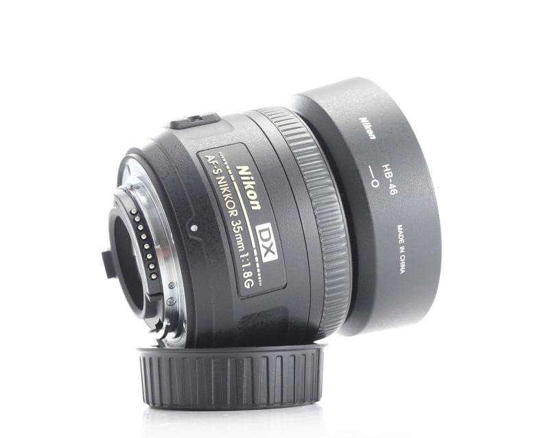 NIKON 35 mm f/1,8 AF-S G DX TOP