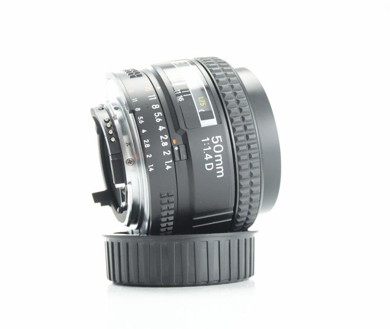 Nikon 50mm f/1.4 AF D TOP