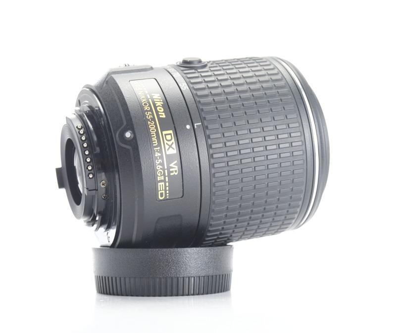 Nikon 55-200mm f/4-5.6G AFS VR II  TOP STAV