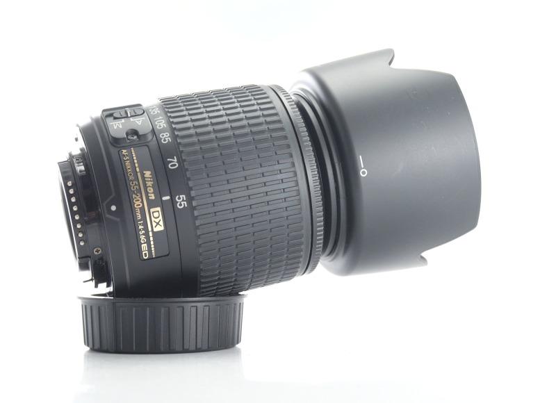 Nikon 55-200mm f/4-5.6G AFS  TOP