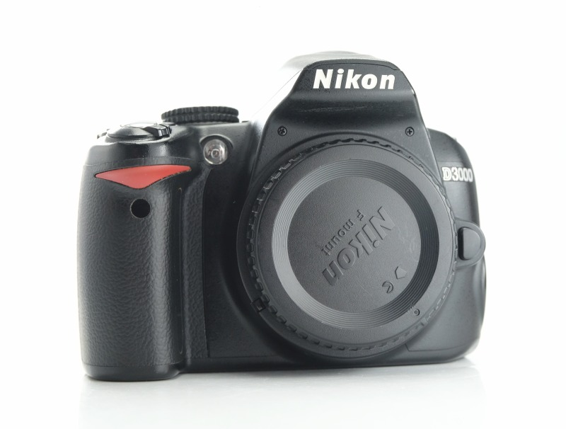 Nikon D3000 TOP