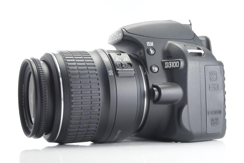 Nikon D3100 + 18-55mm TOP