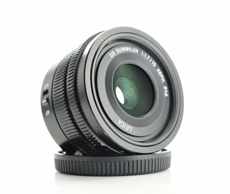 PANASONIC 15 mm f/1,7 ASPH LEICA Summilux pro MICRO 4/3