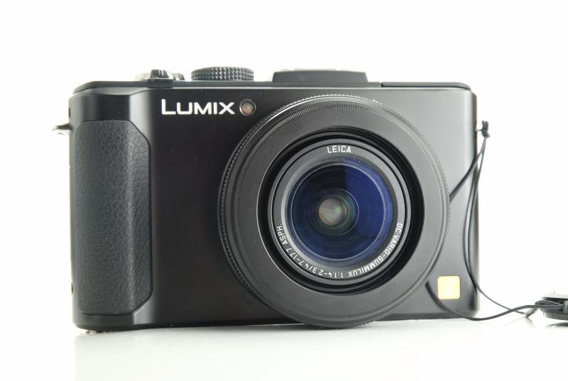 PANASONIC Lumix DMC-LX7  TOP