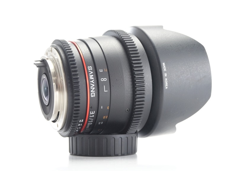 SAMYANG 10 mm T3,1 VDSLR ED AS NCS CS pro Pentax