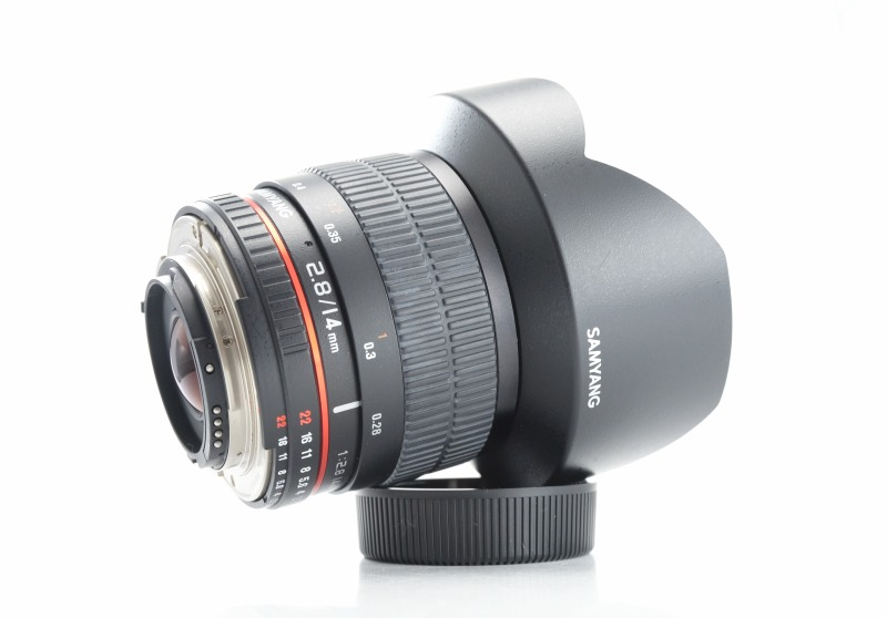 SAMYANG 14 mm f/2,8 ED AS IF UMC pro Nikon