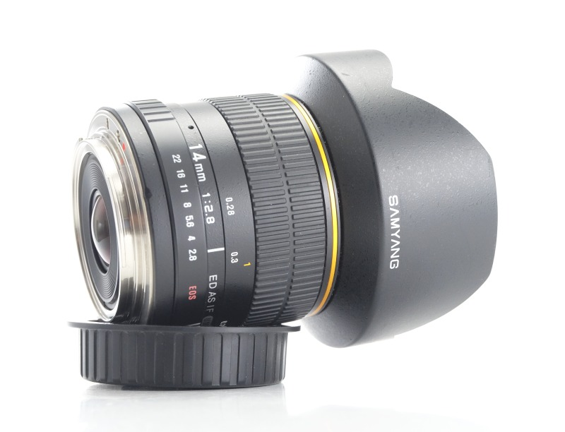 SAMYANG 14 mm f/2,8 ED AS IF UMC pro Canon