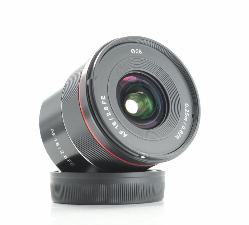 SAMYANG 18 mm f/2,8 AF pro Sony E