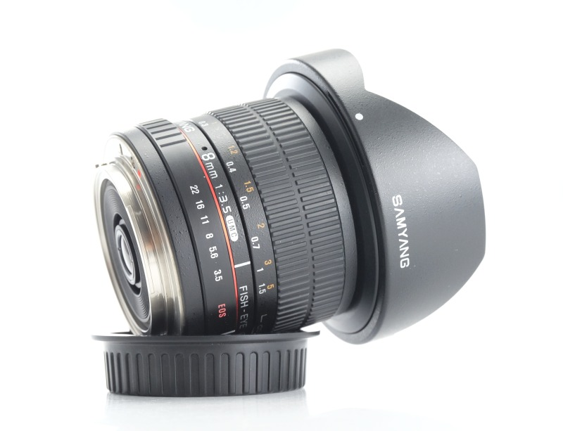 Samyang 8 mm f/3,5  pro Canon