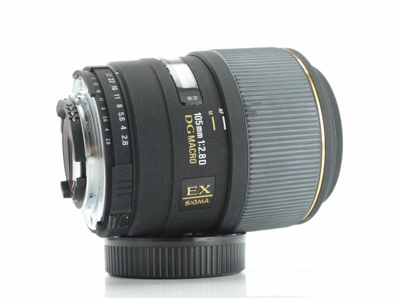 Sigma 105mm F 2,8 EX D MACRO pro Nikon