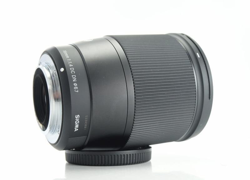 SIGMA 16 mm f/1,4 DC DN Contemporary pro MFT