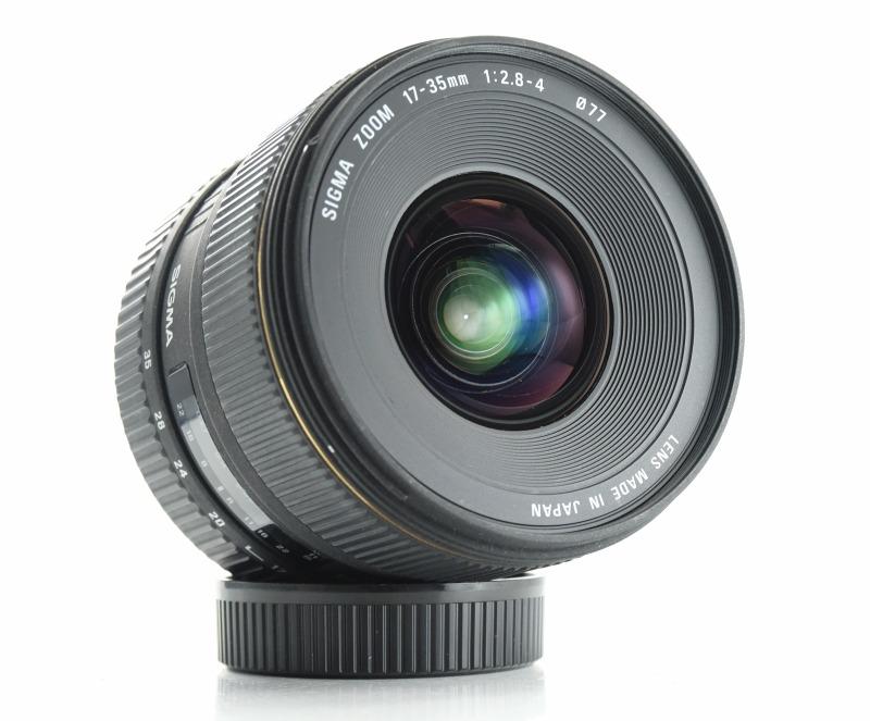 Sigma 17-35 mm F 2,8-4,0 EX DG Aspherical HSM pro Nikon