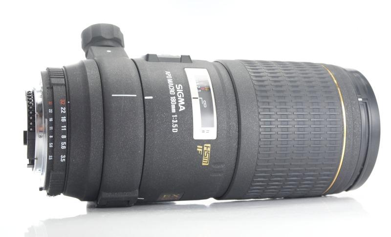 SIGMA 180 mm f/3,5 EX APO DG IF HSM Macro pro Nikon