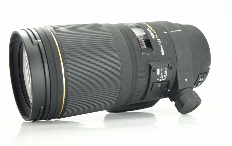 SIGMA 180 mm f/3,5 EX APO DG IF HSM Macro pro Canon TOP