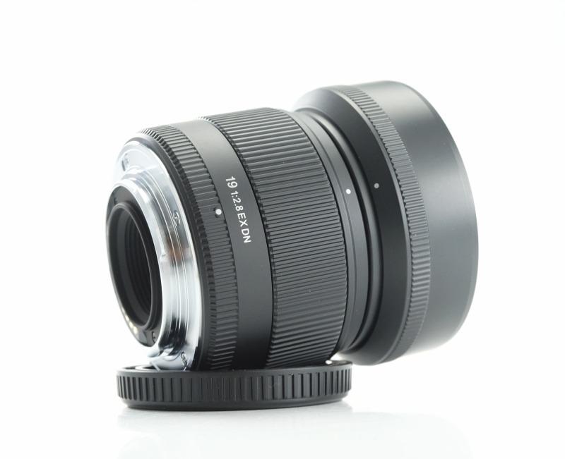 SIGMA 19 mm f/2,8 EX DN pro MFT