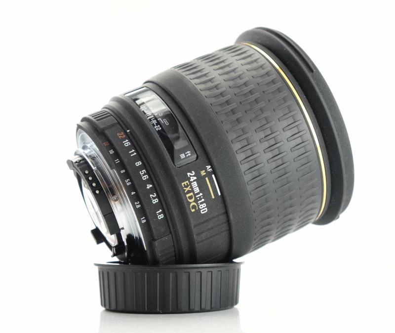 Sigma 24mm f/1.8 EX DG MACRO pro NIKON  TOP