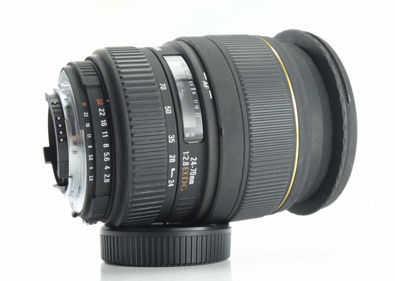 SIGMA 24-70 mm f/2,8 EX DG pro Nikon
