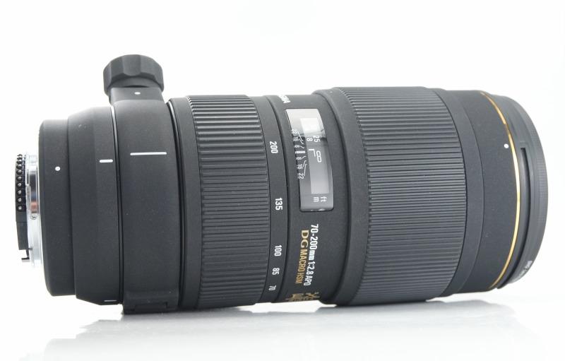 Sigma 70-200mm f/2,8 APO EX DG HSM pro Nikon TOP