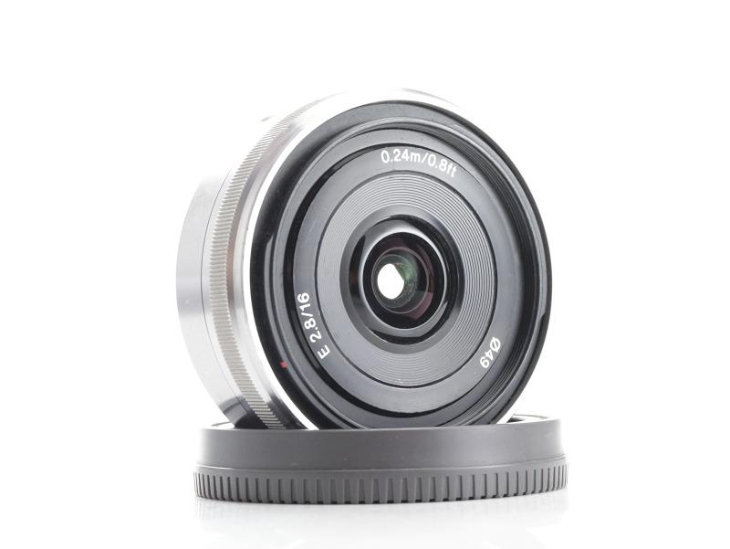 SONY 16 mm f/2,8 SEL pro bajonet E