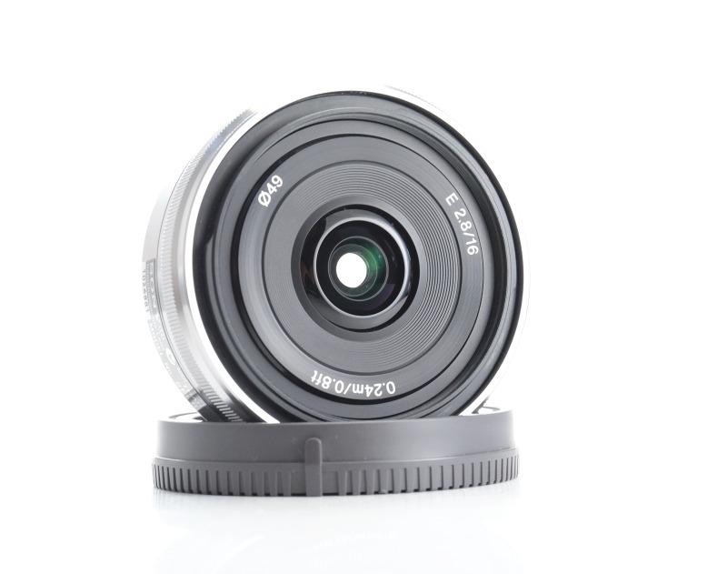 SONY 16 mm f/2,8 SEL pro bajonet E TOP