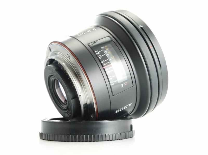 SONY 20 mm f/2,8 pro bajonet A