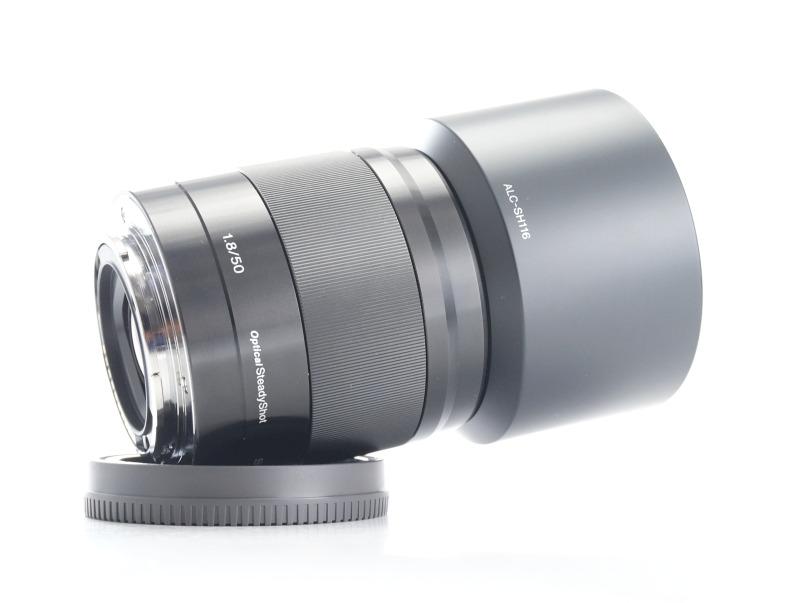 SONY 50 mm f/1,8 SEL černý pro bajonet E TOP
