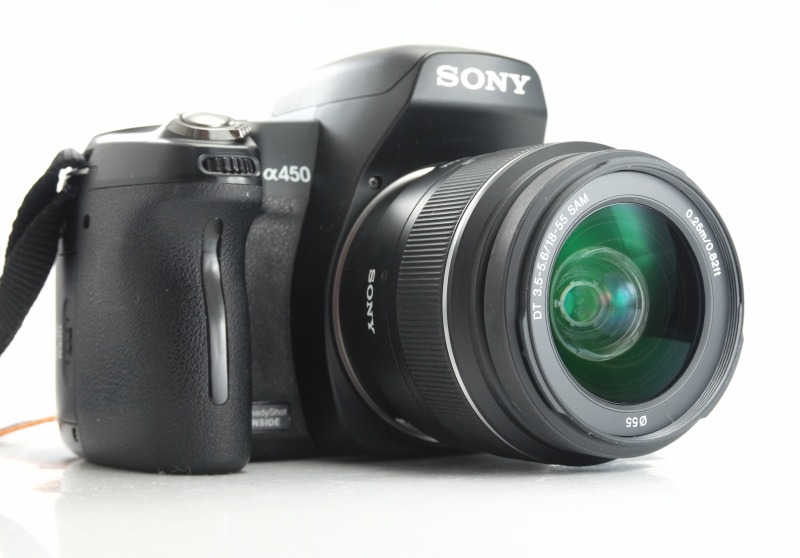 Sony Alpha A450 + 18-55 mm TOP