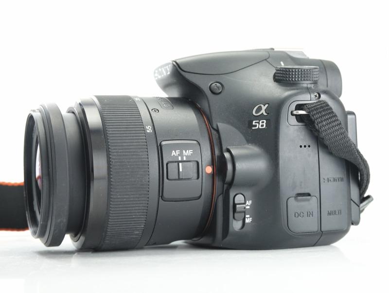 SONY Alpha SLT-A58 + 18-55 mm II