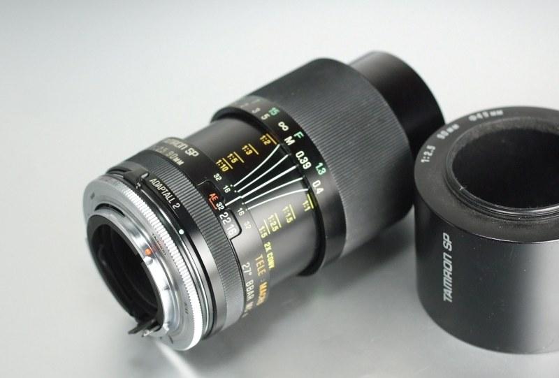 TAMRON 90 mm f/2,5 SP Adaptall II pro Pentax