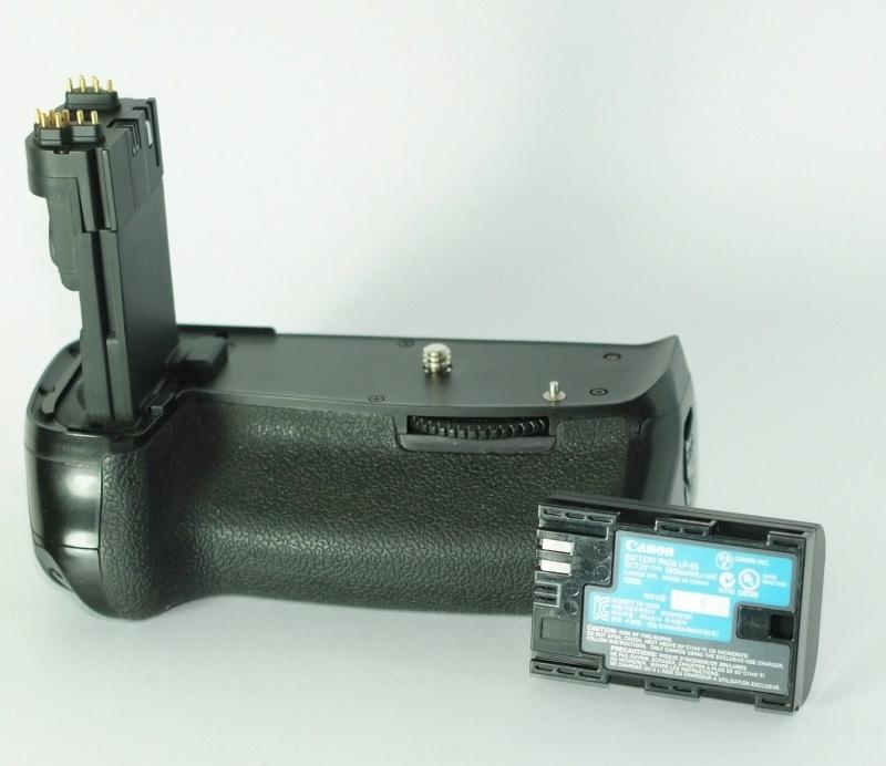 APUTURE grip BP-E9 pro Canon 60D + AKU CANON E6