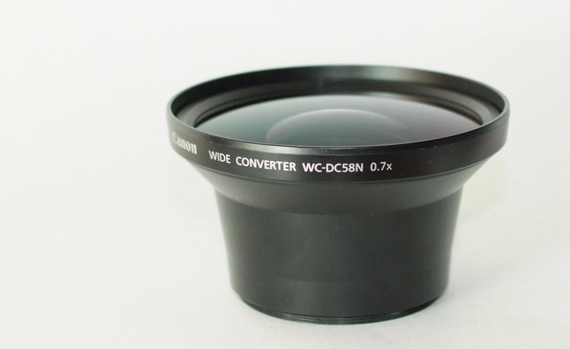 Canon telepředsádka WC-DC58N 0,7x