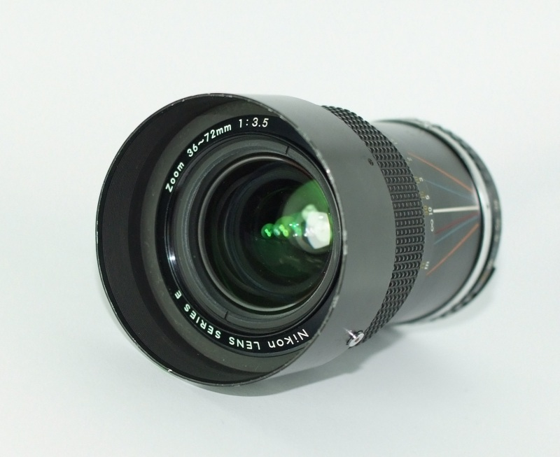 NIKON MF 36-72mm 3.5 AIS serie E