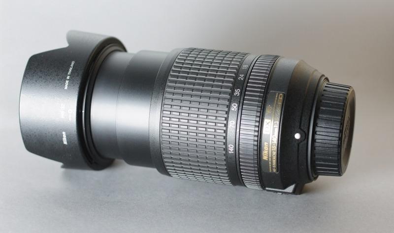 Nikkor 18-140mm 3,5-5,6G AF-S DX VR záruka 3/2017