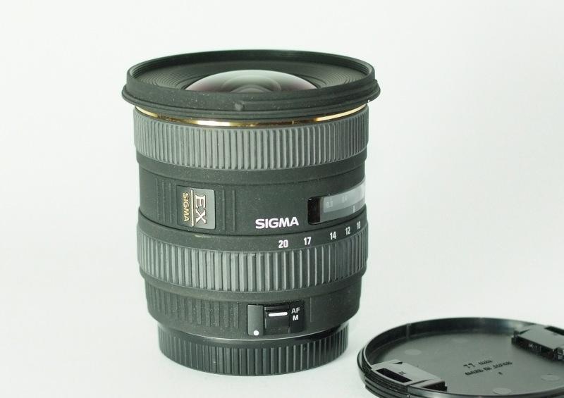 Sigma 10-20/4-5.6 EX DC pro CANON