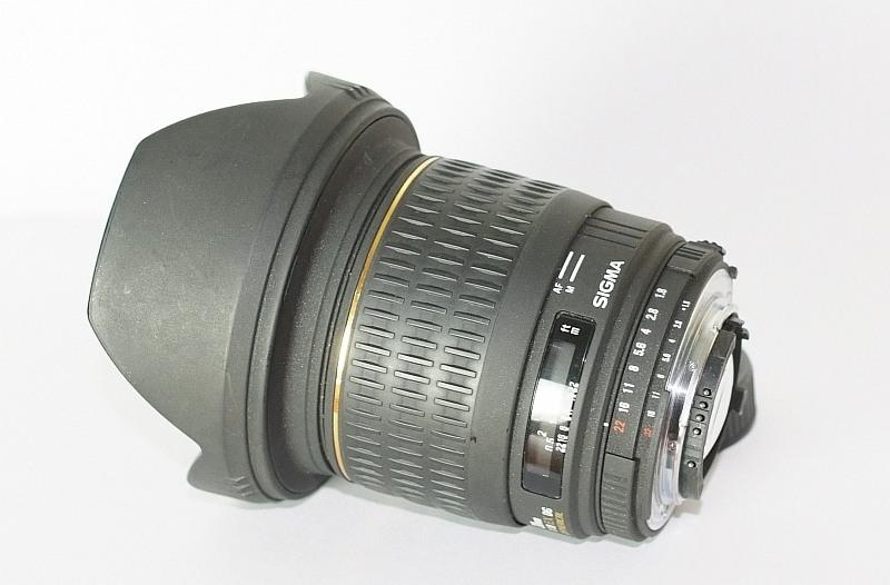 Sigma 20mm f/1.8 EX DG ASPHERICAL pro NIKON