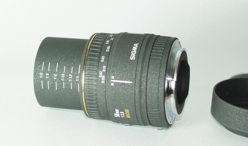 Sigma 50mm f/2.8 EX MACRO pro CANON TOP STAV