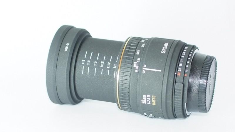 Sigma 50mm f/2.8 EX DG MACRO pro NIKON