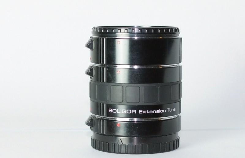 SOLIGOR Mezikroužky  12/20/36 pro Sony / Minolta