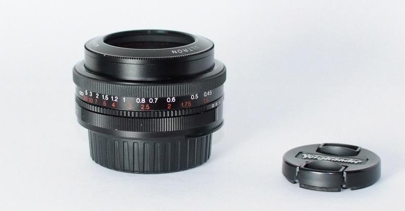 Voigtlander 40mm f/2 Ultron SL II pro NIKON