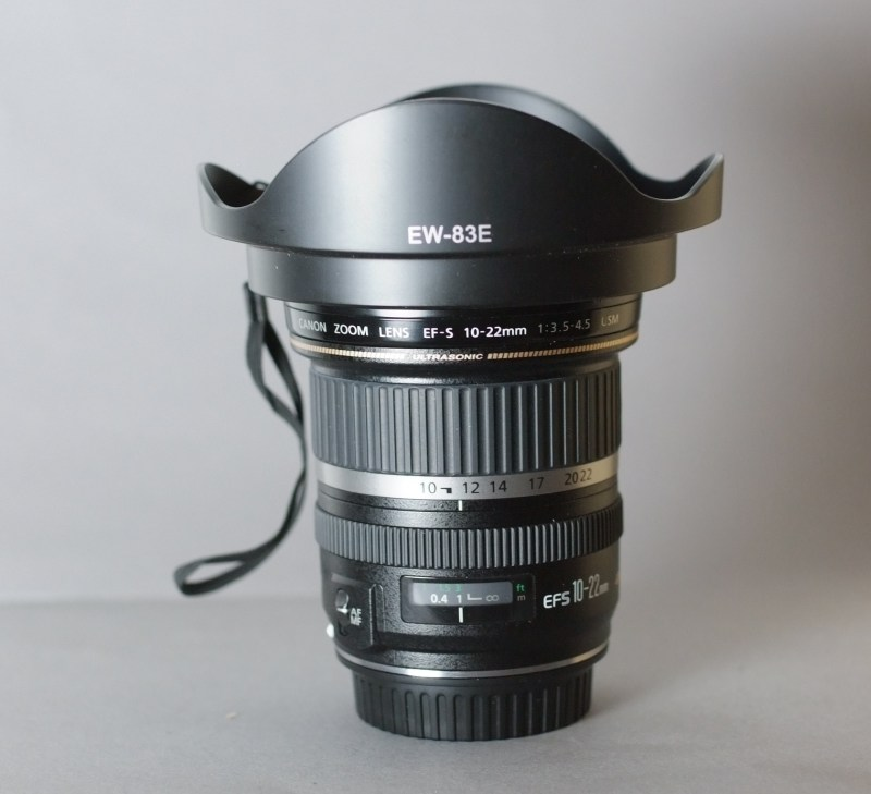 Canon EF-S 10-22mm f/3.5-4.5 USM SUPER STAV