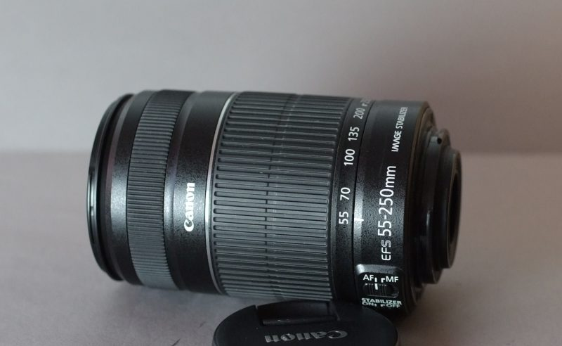 Canon EF-S 55-250mm f/4-5,6 IS II  SUPER  STAV
