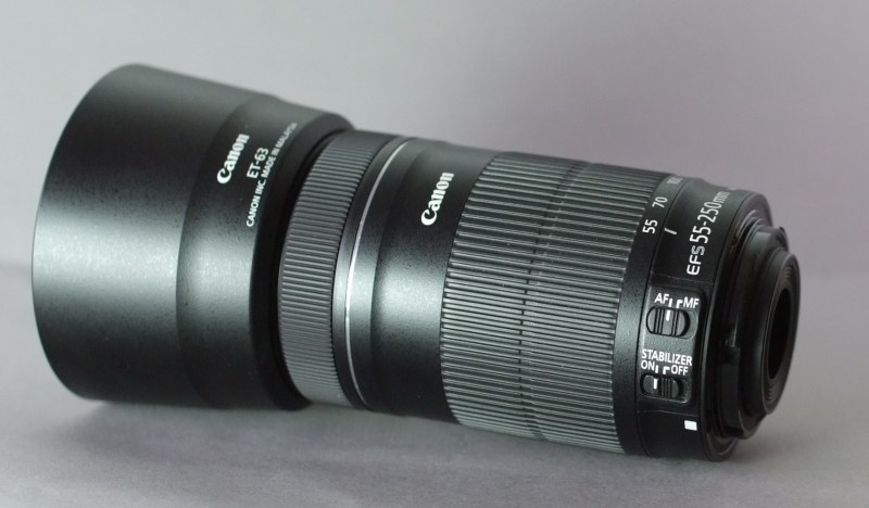 Canon EF-S 55-250mm f/4-5.6 IS STM TOP STAV